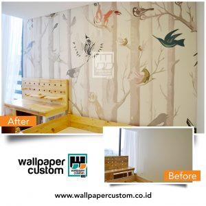 Pemilihan Desain Wallpaper Custom