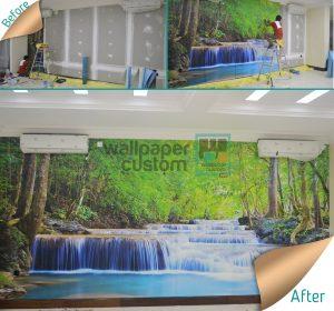 Yuk Percantik Ruangan Dengan Wallpaper Custom