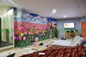 wallpaper custom printing 3d
