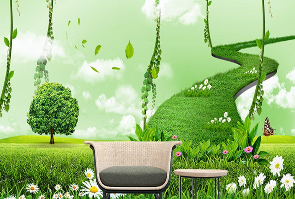 Wallpaper Custom Pilihan Tepat Interior Rumah Anda