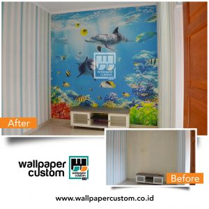 Jual Wallpaper Custom