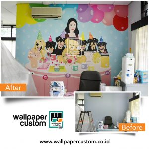 Wallpaper Custom Penghias Dinding