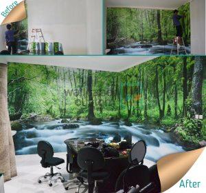 Belajar Membuat Design dengan Wallpaper Custom